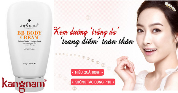 Sakura BB Body Cream mua ở đâu